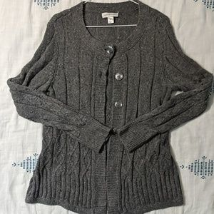 Christopher & Banks Grey Sweater